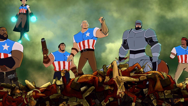 Channing Tatum, Olivia Munn y Killer Mike son algunas de las voces de esta cinta de animación. (Netflix)
