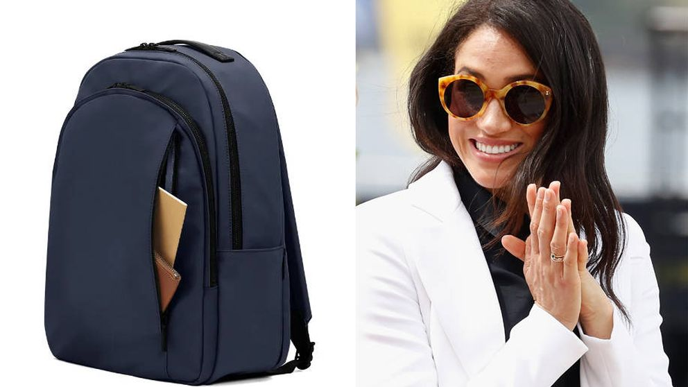 La mochila de la firma fetiche de equipaje de Meghan Markle tiene lista de espera