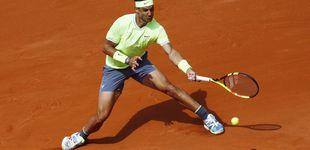 Post de El martillo de Rafa Nadal destroza a Yannick Maden en Roland Garros