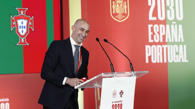 Rubiales afea a TVE que relegue el partido de la Selección a Teledeporte