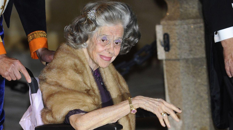 Foto: La reina Fabiola de los belgas en una imagen de archivo (Gtres)