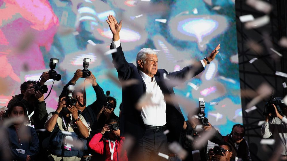 Foto: Andrés Manuel López Obrador gana las elecciones en México