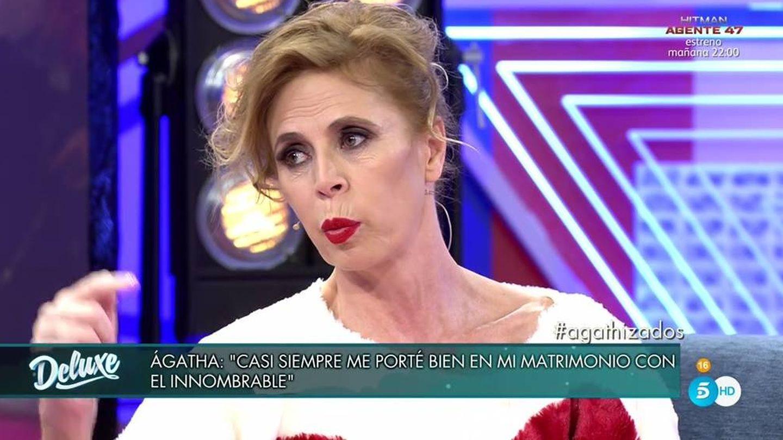 Ágatha Ruiz de la Prada en 'Sábado Deluxe'.