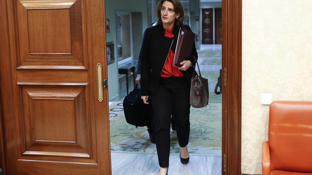 Foto: a vicepresidenta cuarta del Gobierno y ministra para la Transición Ecológica y el Reto Demográfico, Teresa Ribera, en el Congreso de los Diputados. (EFE)