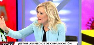 Post de La pregunta maliciosa de Risto Mejide a Cristina Cifuentes en su estreno en 'TEM'