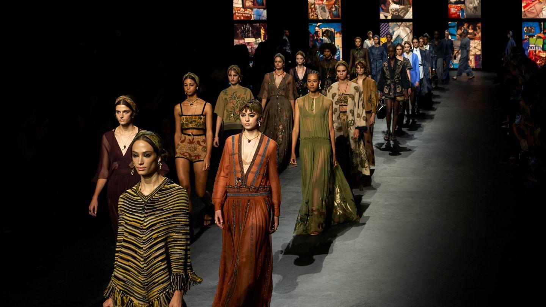 Desfile de la primavera-verano 2021 de Dior. (Cortesía)