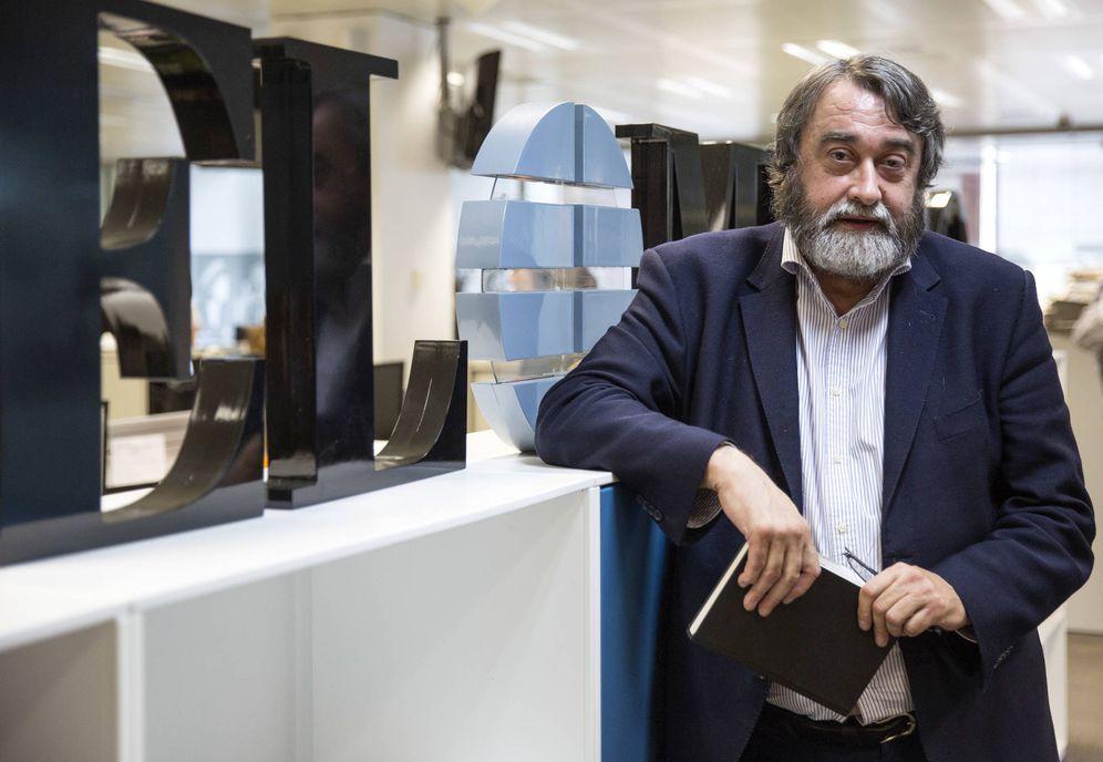 Foto: El actual director de 'El Mundo', Pedro García Cuartango. (EC)