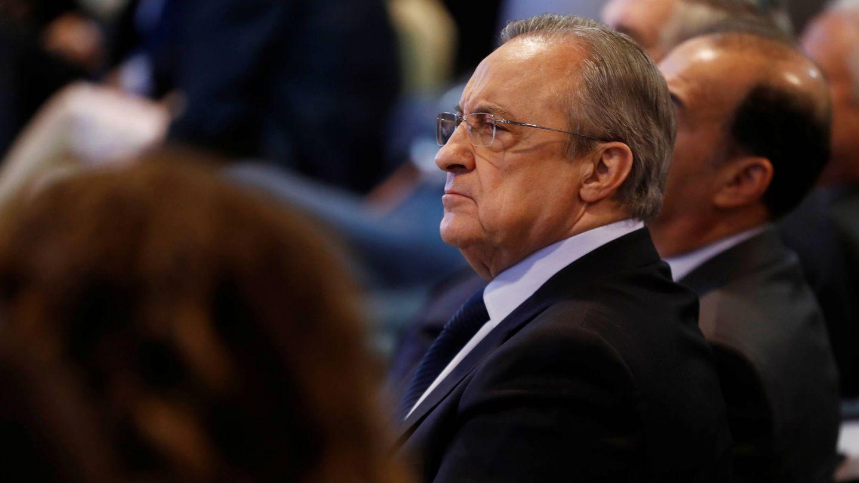 Florentino Pérez, como los jugadores, está desolado. (Reuters)