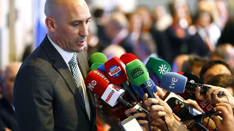 Foto: Luis Rubiales, nuevo presidente de la RFEF. (EFE)