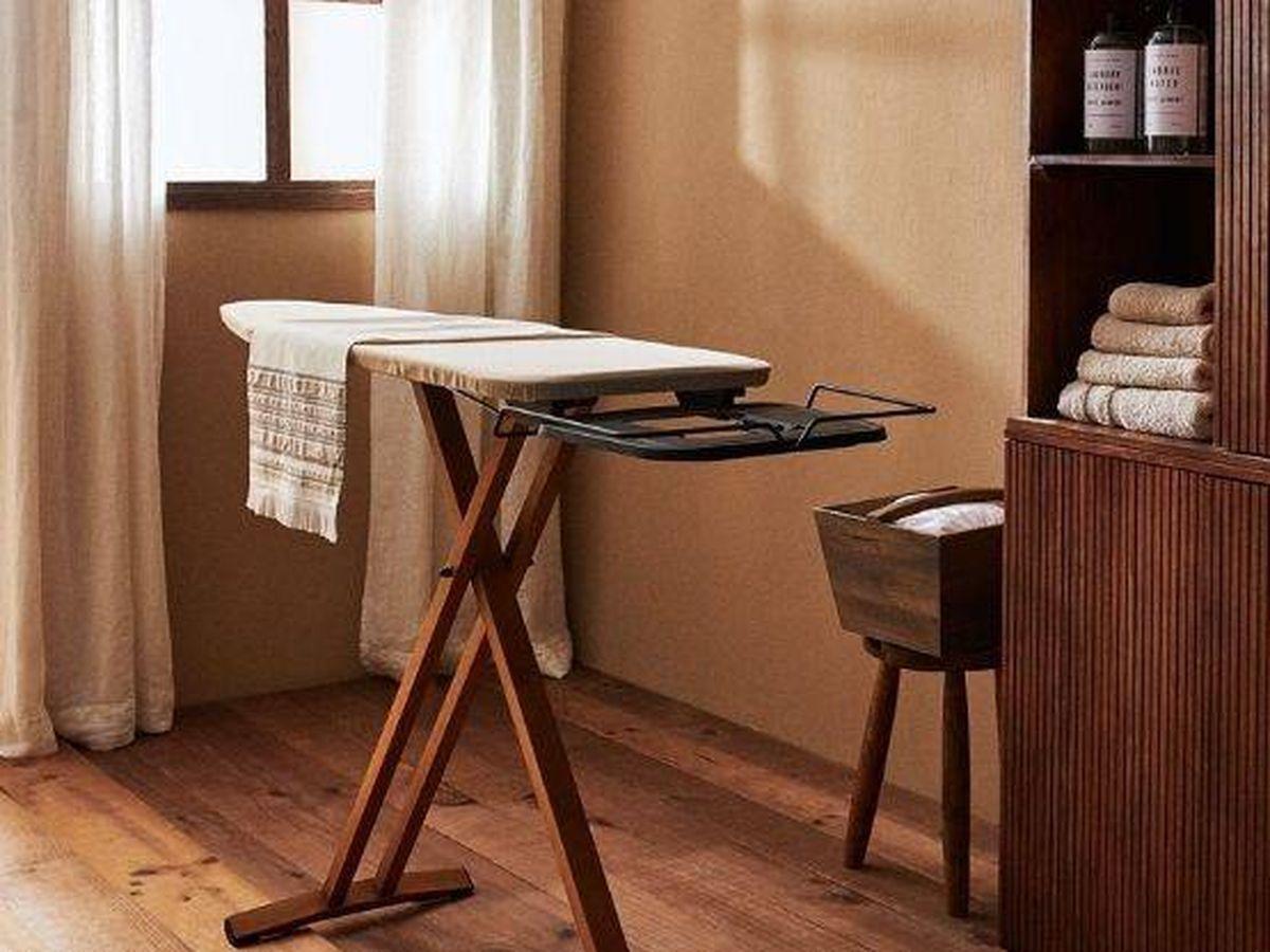 Foto: Querrás tener esta mesa de planchar y muchas otras cosas de Zara Home. (Cortesía)