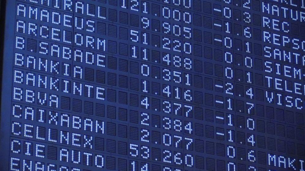 Foto: El Ibex 35, el principal índice de la Bolsa española. (EFE)