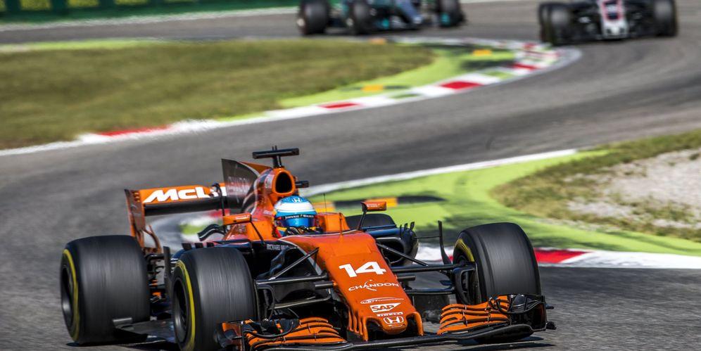 Foto: En la imagen, el McLaren de Fernando Alonso. (EFE)