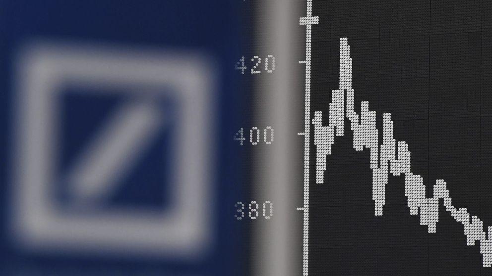 Deutsche Bank, el banco con más riesgo del mundo, marca mínimos históricos