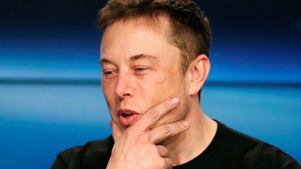 Foto: Elon Musk en una rueda de prensa el pasado febrero. (Reuters)