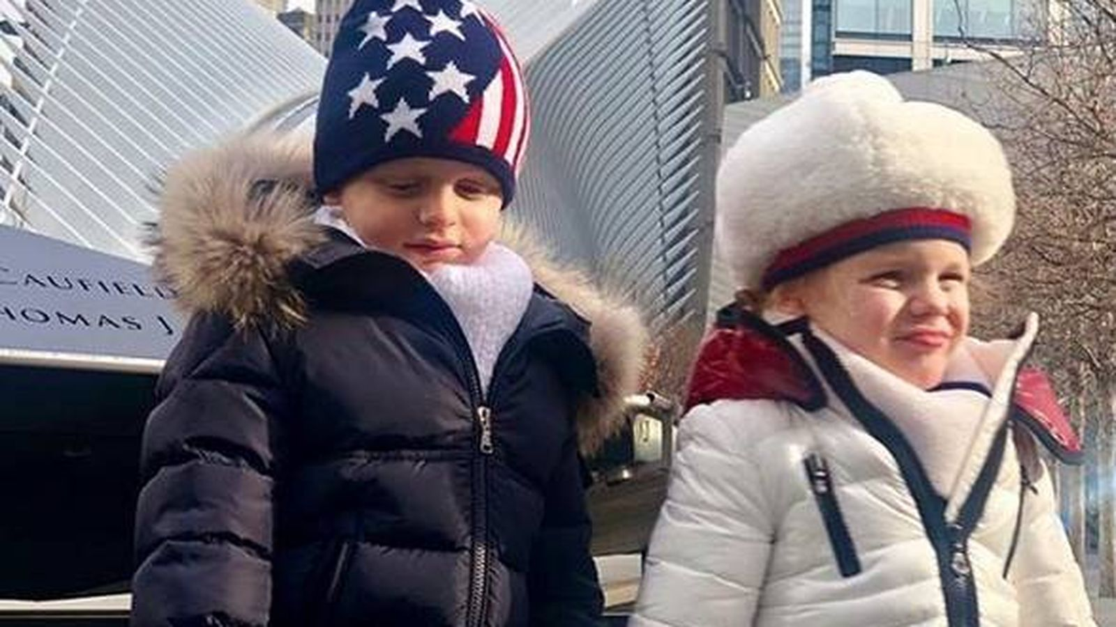 Foto: Jacques y Gabriella, disfrutando a tope NY. (Instagram)