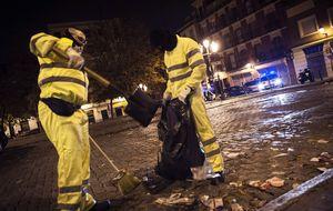 Mayores, colegios, bomberos...los recortes de Madrid para la limpieza
