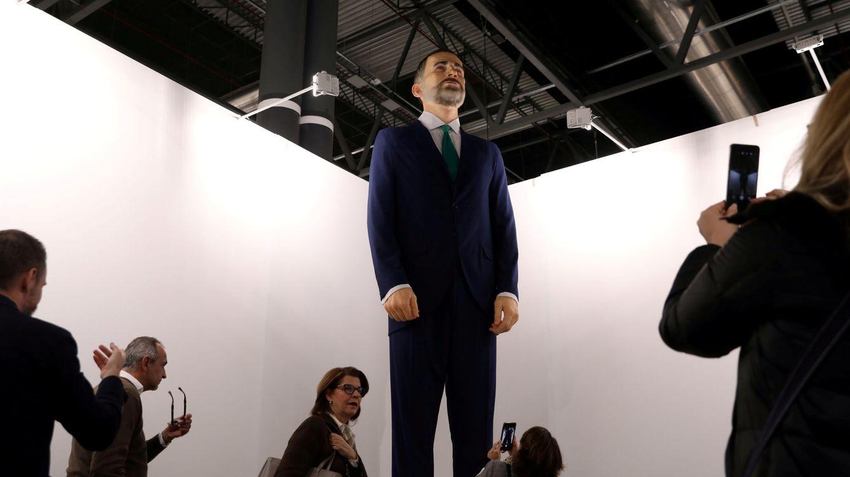 Nadie quiere el 'Ninot' inflamable de Felipe VI que revolucionó ARCO