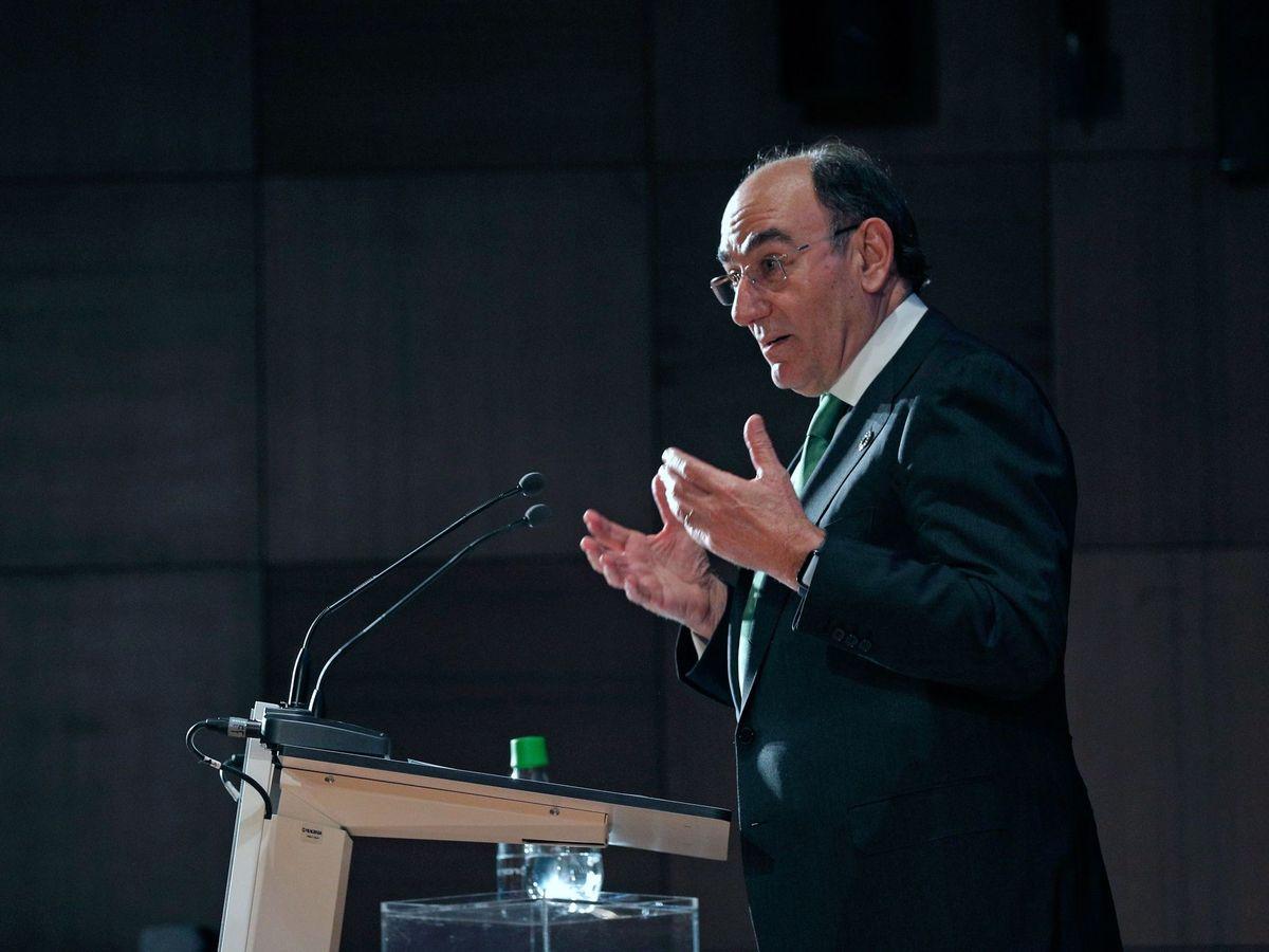 Foto: -El presidente de Iberdrola, Ignacio Galán (EFE)