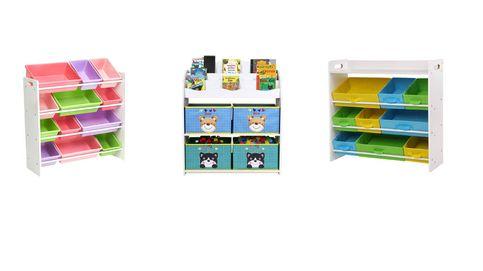 Los mejores organizadores de juguetes para niños y tener la habitación recogida