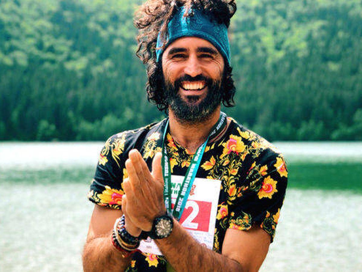 Foto: Raúl Gómez, en 'Maraton Man'. (Movistar+)