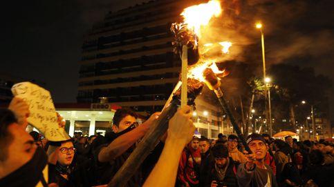 La represión policial en Bogotá no frena los disturbios en otra jornada de protestas