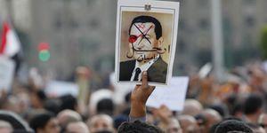 Llega el 'día D': cientos de miles de egipcios claman en la calle contra Mubarak