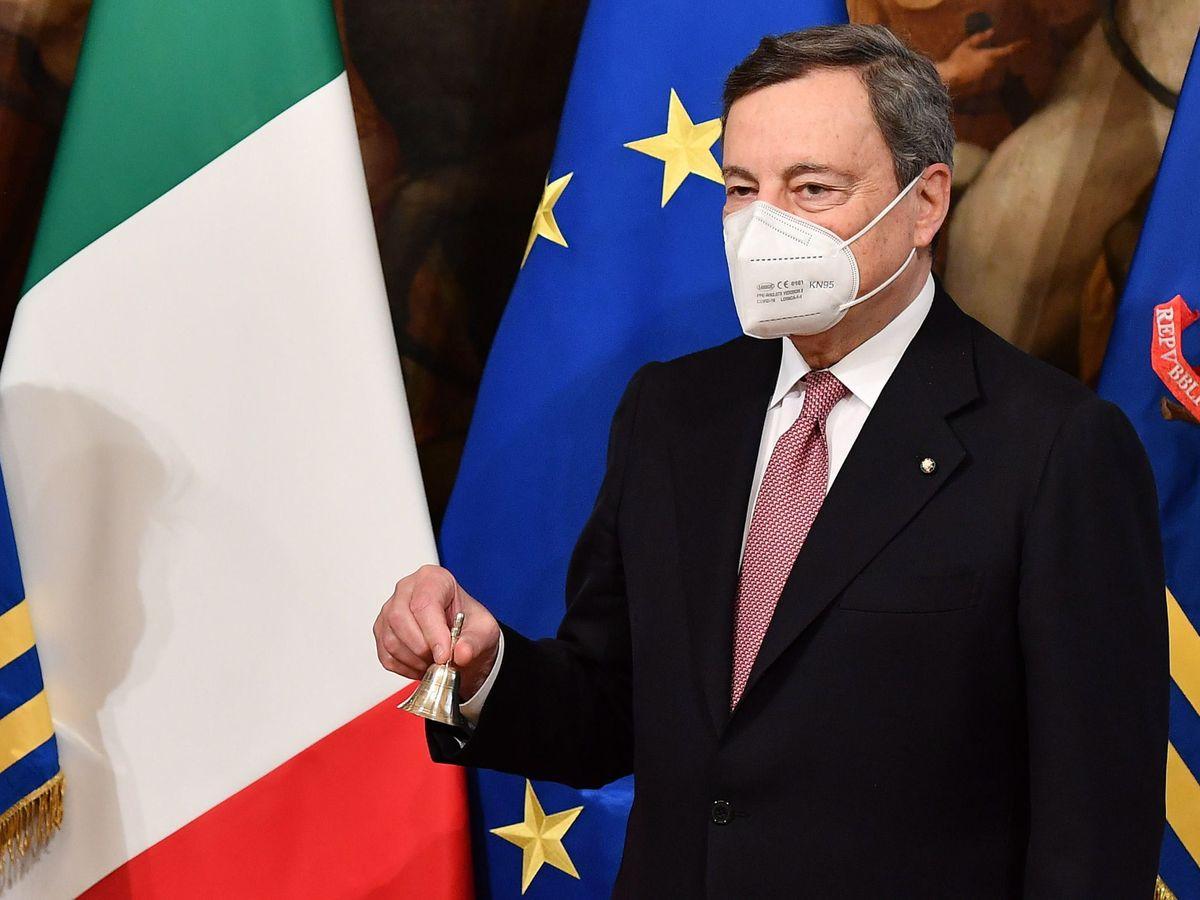 Foto: El nuevo primer ministro de Italia, Mario Draghi. (EFE)