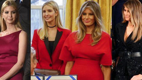 Descubre los últimos looks de Melania e Ivanka Trump y quién los firma