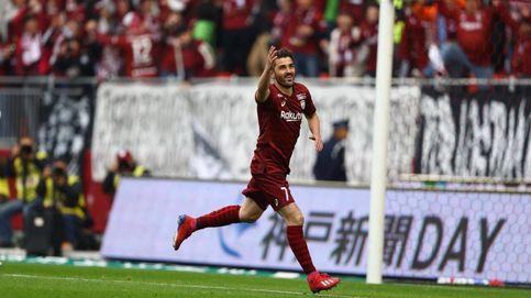 El primer gol de David Villa en Japón: se lo marcó al equipo de Fernando Torres