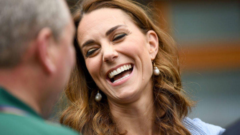 La duquesa de Cambridge en Wimbledon 2019. (Getty)