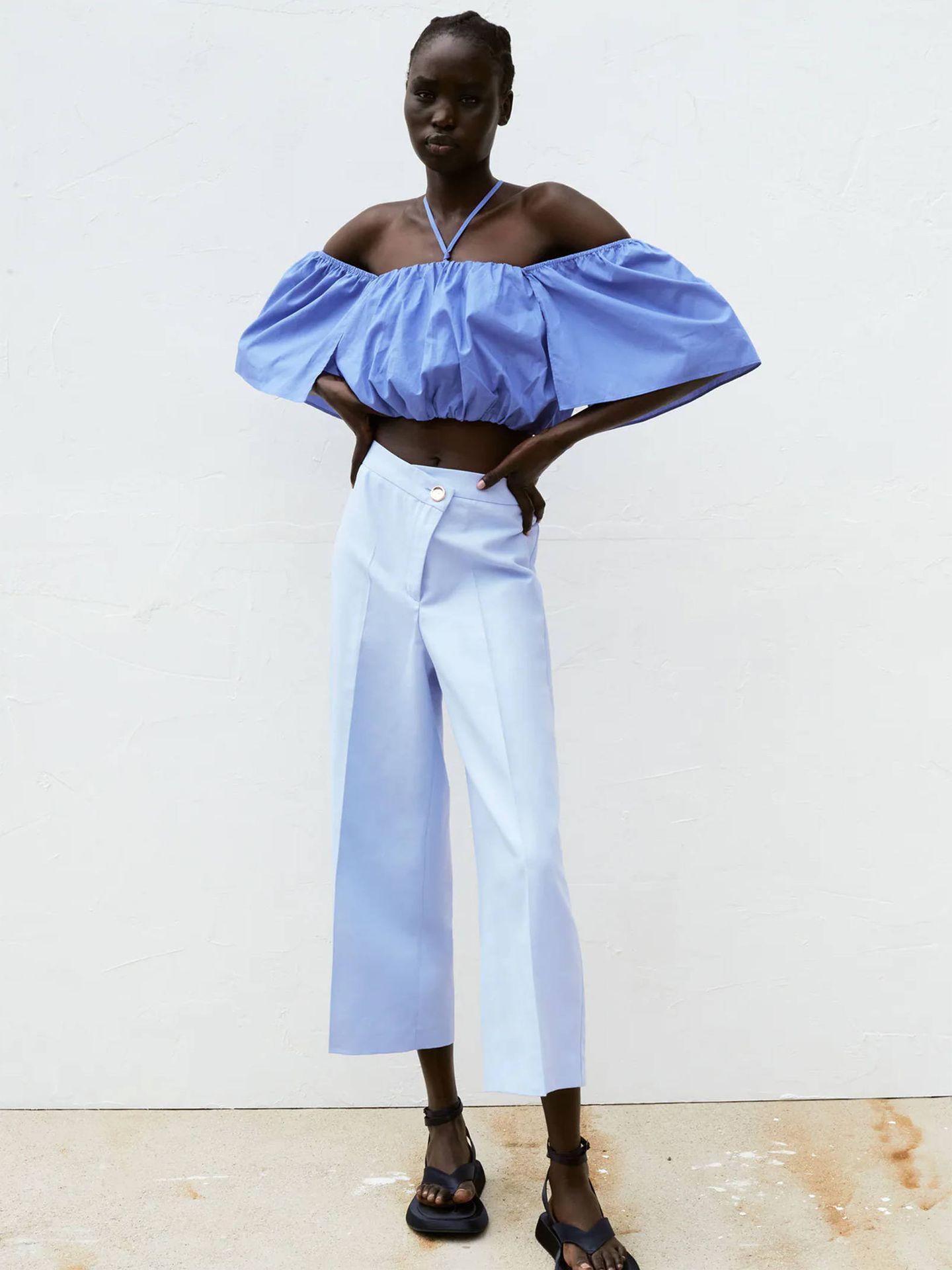 Pantalón de Zara. (Cortesía)