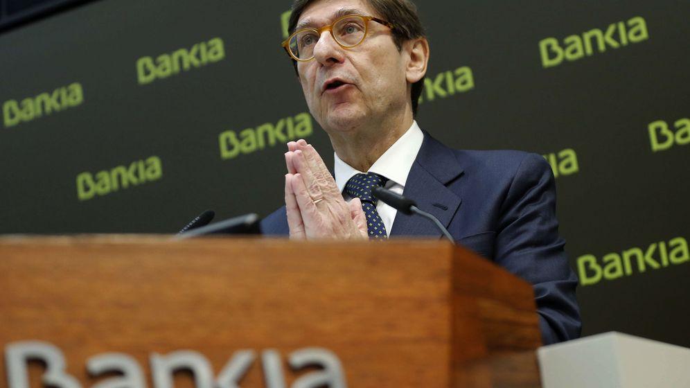 Foto: El presidente de Bankia, José Ignacio Goirigolzarri, durante la presentación de la nueva estrategia comercial de Bankia. (EFE)