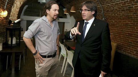 Puigdemont desvela que Pablo Iglesias le llamó para pactar la moción de censura