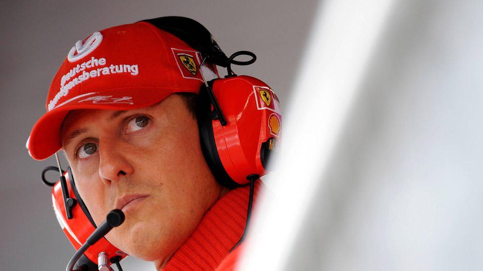 Foto: Michael Schumacher con Ferrari. (Reuters)