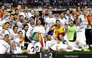 Bale rompe al Barça con un gol que justifica los 92 millones de euros