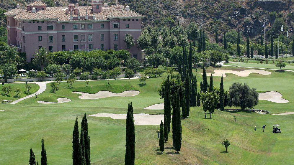 Foto: Vistas del hotel Villa Padierna de Benahavís (Málaga), donde se alojó en 2010 la primera dama estadounidense, Michelle Obama. (EFE)