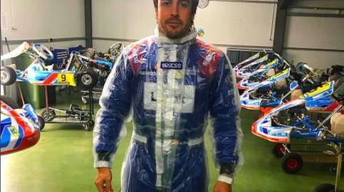 ¿Ha estado Alonso en Toyota para hacer una prueba con su coche en unos días?