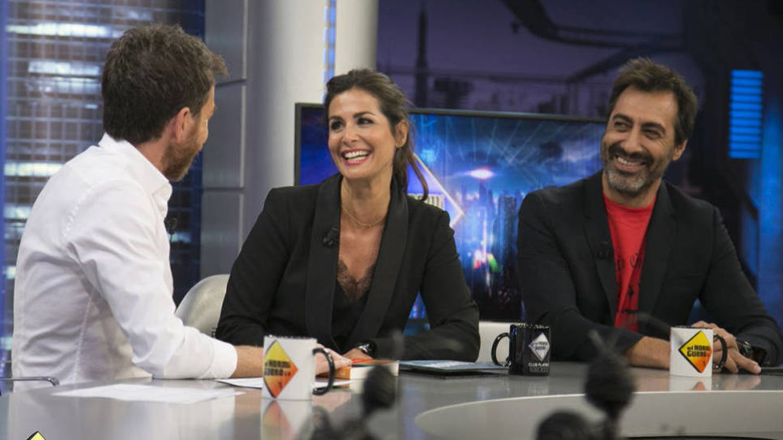 Nuria y Juan en 'El hormiguero'.