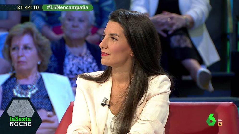 Foto: Rocío Monasterio, en 'La Sexta noche'. (Atresmedia).
