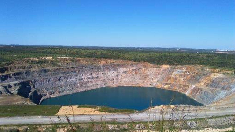 Corta de la mina de Aznalcóllar. (C.P.)