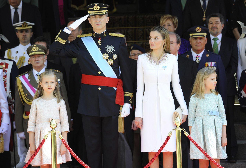 Foto: Todos los detalles de la proclamación de Felipe VI y Letizia