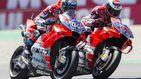 La nueva china que Jorge Lorenzo recibe de Andrea Dovizioso en Ducati