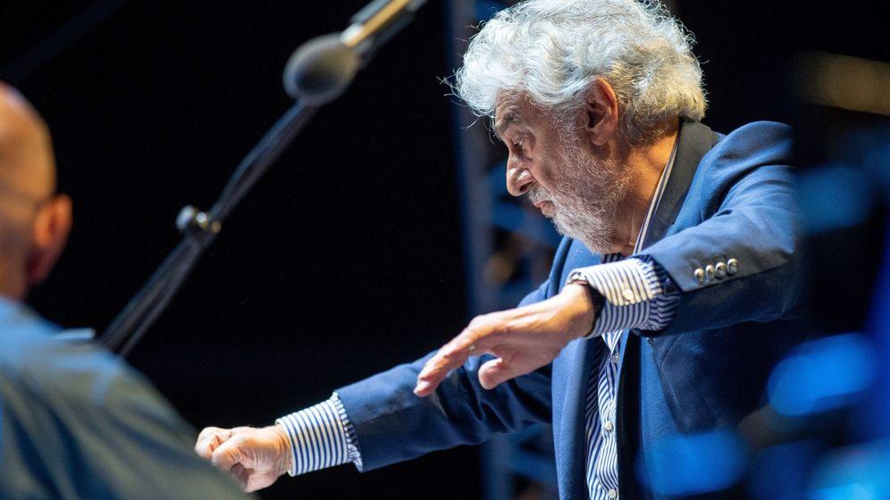 Foto: Placido Domingo en Hungría el 27 de agosto (EFE)