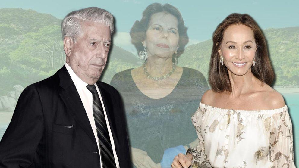 Preysler y Vargas Llosa: amor y relax para el huracán informativo del verano