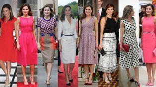 Analizamos los 8 looks de la reina Letizia en su visita a Estados Unidos