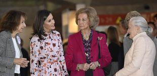 Post de Letizia y Sofía: las dos reinas inauguran el mercadillo de Nuevo Futuro