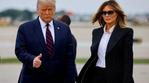 El presidente de EEUU, Donald Trump, y su mujer, Melania, dan positivo en coronavirus