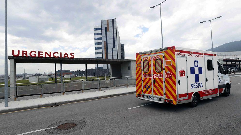 Foto: Hospital Universitario Central de Asturias (HUCA), donde permanecía ingresado en estado crítico David Carragal (Efe)