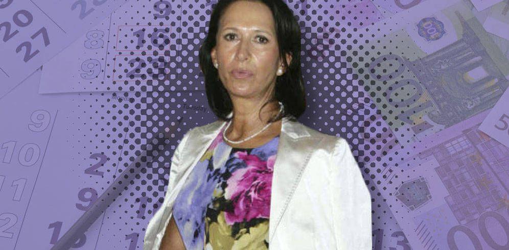 Foto: Marta Gayá en un fotomontaje realizado en Vanitatis.