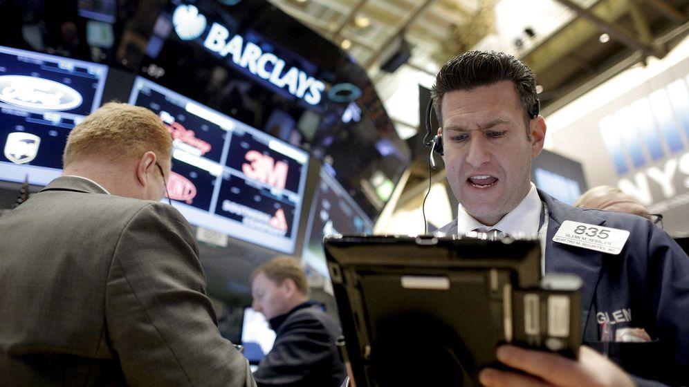 Foto: Traders preocupados. (Reuters)